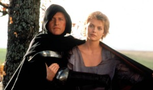 Rutger Hauer and Michelle Pfeiffer in Ladyhawke